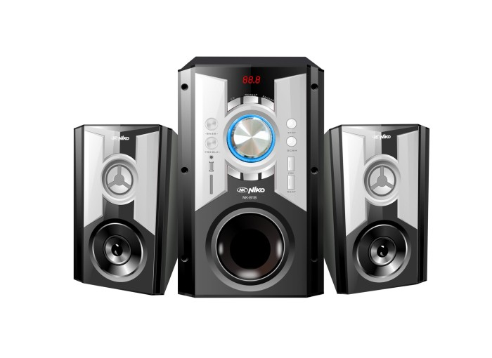Speaker niko slank b1b - putih