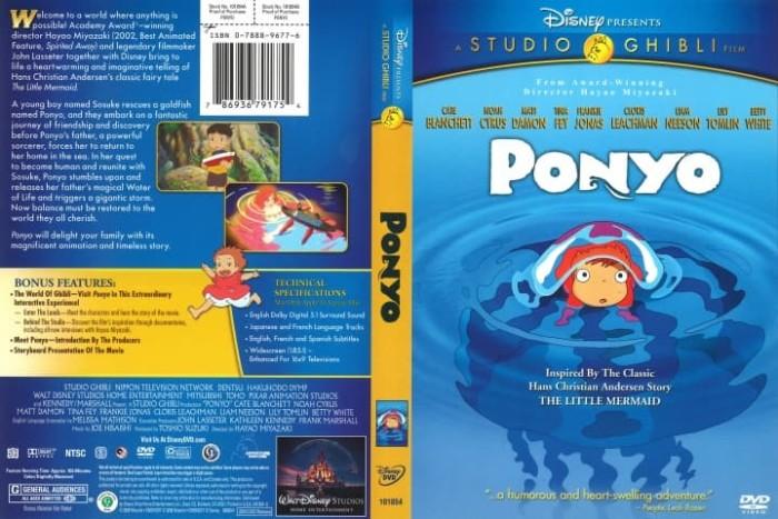 Jual Ponyo 2008 Ghibli High Resolution Encoding Dvd Kota Bekasi A Breeder Tokopedia
