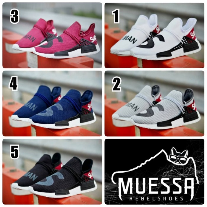 62cc3b637 Jual PROMO! Sepatu Pria Adidas NMD Human Race x Supreme Sneakers ...