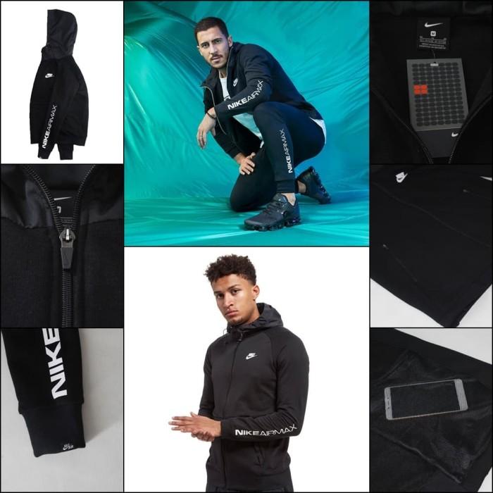 harga Jaket hoodie nike airmax black grade original Tokopedia.com