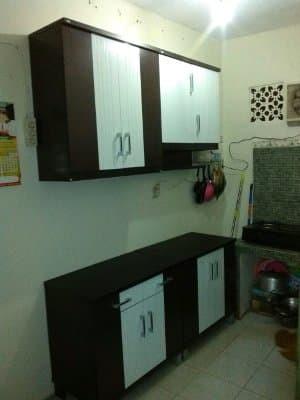 Beli Kitchen Set Lemari Dapur 4 Pintu Atas Bawah Satu Set Anata