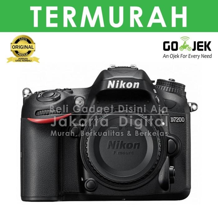 harga Jakarta digital nikon d7200 bodi only tanpa lensa Tokopedia.com