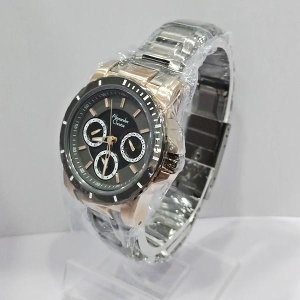 harga Jam tangan alexandre christie original wanita 6141 abu-abu gold tua Tokopedia.com