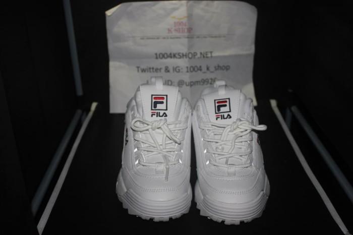 Jual Sepatu FILA DISRUPTOR 2 - WHITE WWT - ORIGINAL IMPOR KOREA ... 9828fd6cd7