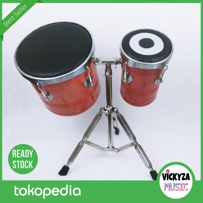 harga Ketipung kendang tabla dangdut koplo aselole kulit hitam bonus stand Tokopedia.com