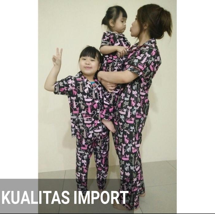 Baju Tidur Couple Ibu Dan Anak Consaboratii