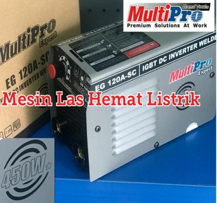 Foto Produk Mesin Las listrik Inverter 450 Watt Multipro EG 120A SC / EG 120 A SC dari H&R Globalindo