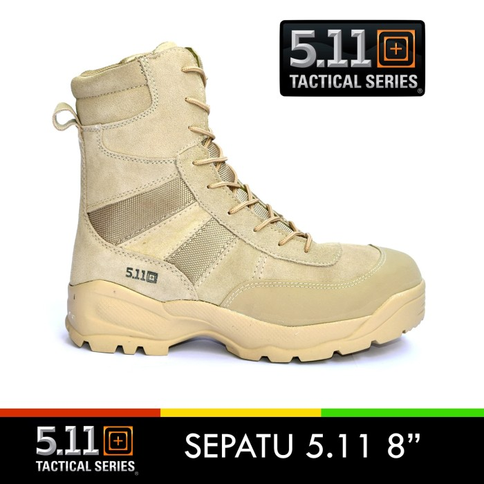 harga Sepatu 511 boots kulit 8 inch cokelat/ sepatu pdl 5.11 tactical import Tokopedia.com