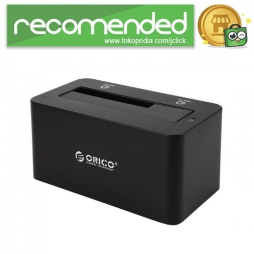 harga Orico usb 3.0 1-bay 2.5/3.5 hdd docking station - 6619us3-v1 - hitam Tokopedia.com