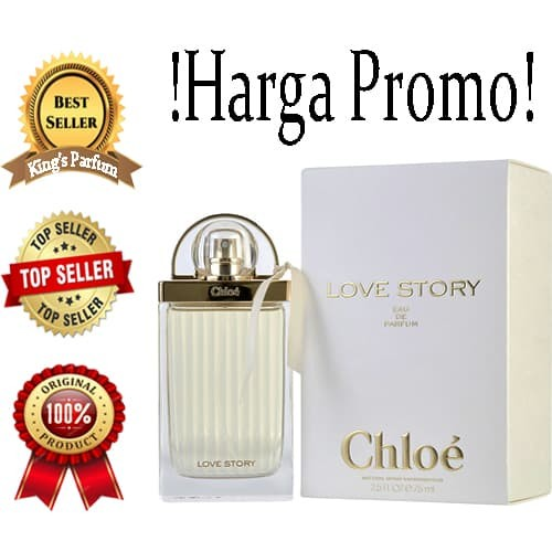 Parfum Love Jakarta Original King's Non Box Jual ParfumeTokopedia Chloe Story 100Dki K1TclFJ