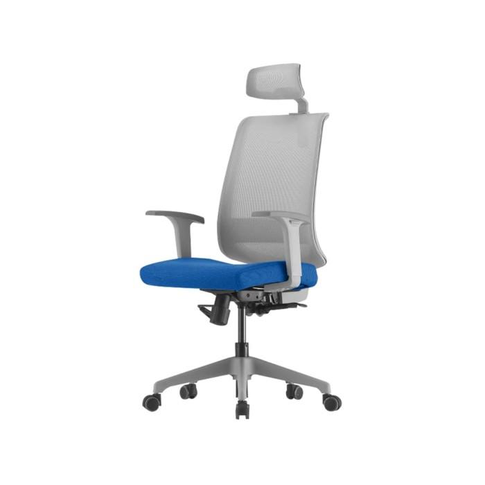 harga Highpoint neo kursi kantor sandaran tinggi - neo001 blue Tokopedia.com