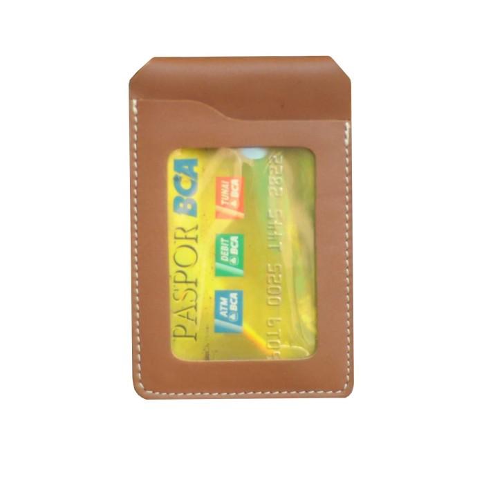 harga Id card holder name tag tempat kartu nama kulit magnet Tokopedia.com
