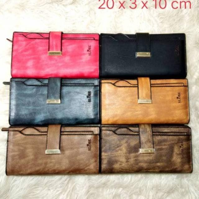 Ayako Fashion Slobe D1044 Wallet Tan - Info Harga Terkini dan Terlengkap 56e17a2688