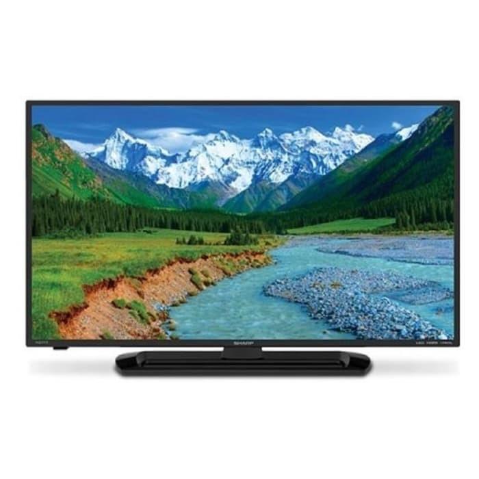 Sharp 32  tv led aquos lc-32le265 usb movie hitam