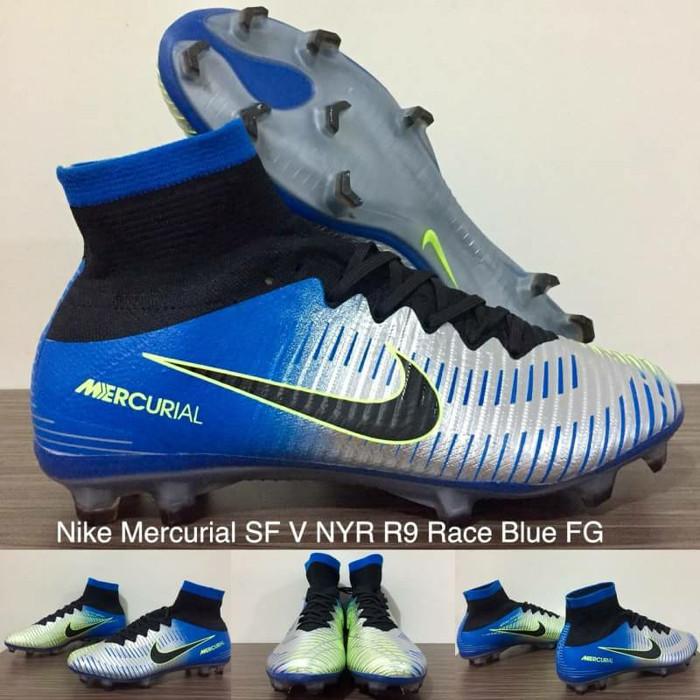 new arrival dac65 02c84 Jual Sepatu Bola Nike Mercurial Superfly Neymar R9 Racer Blue FG - Kota  Batam - Doeglass_sport | Tokopedia