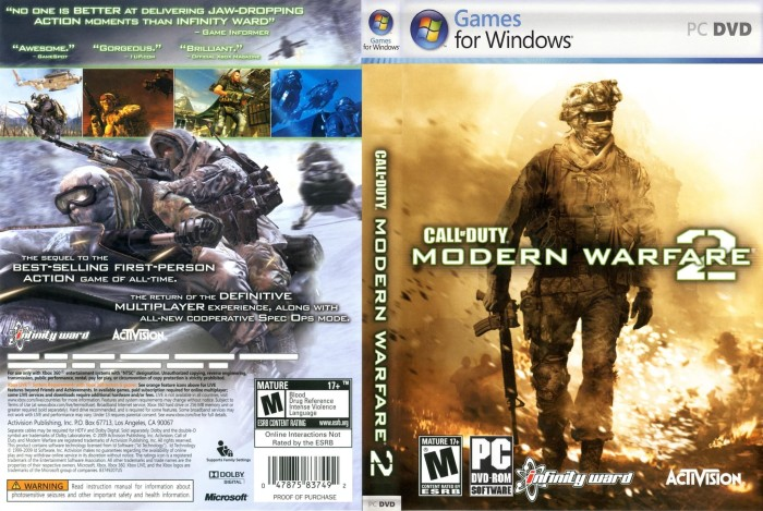 harga Pc game call of duty modern warfare 2 Tokopedia.com