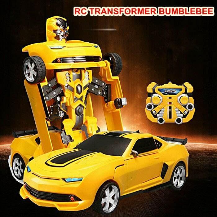 harga Rc mobil robot transformer bumblebee deformation 2.4ghz - skala 1:14 Tokopedia.com