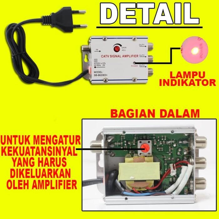 ... TV Panjang 20 Meter Berkualitas Tinggi Online. Source · EELIC CSA-8620ED7 MIX 10m PENGUAT SINYAL 20 dB CATV SIGNAL AMPLIFIER