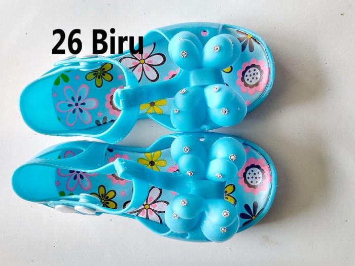 Jual Sepatu Anak Perempuan Pita Bunga Jelly Shoes Ukuran Tk Kota Surakarta Nfm Linesshop Tokopedia