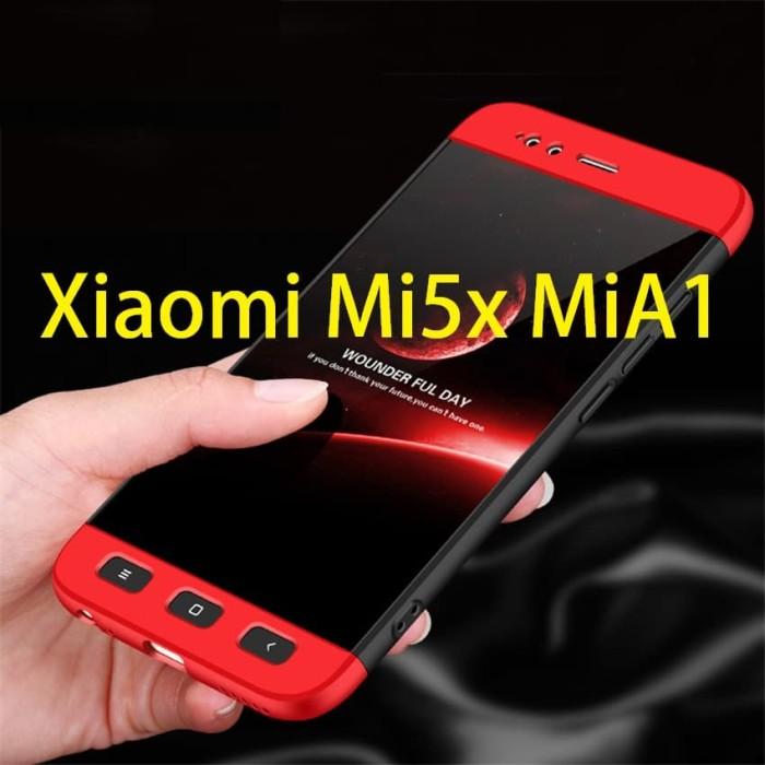 harga Xiaomi mi5x mi 5x mia1 mi a1 - 360 degree full protective hard case Tokopedia.com