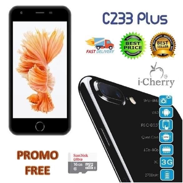 harga Icherry c233 plus android mirip iphone 7plus lcd 5.5 inch Tokopedia.com