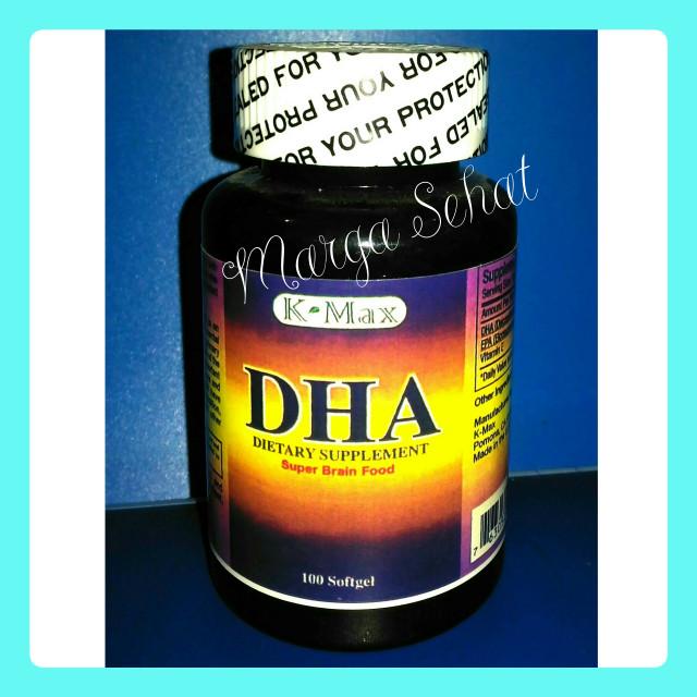 Foto Produk DHA SUPLEMEN NUTRISI OTAK K-MAX, USA: isi 100 kapsul dari Marga Sehat
