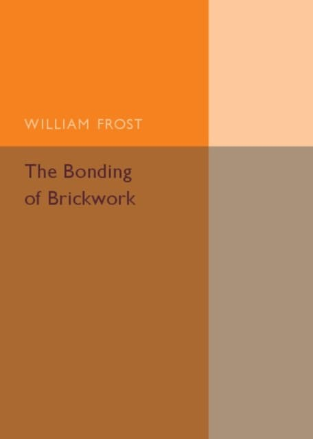 harga The bonding of brickwork (9781316603826) Tokopedia.com