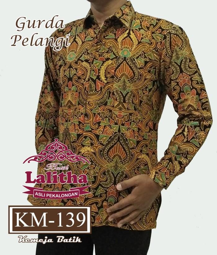 Batik Pekalongan Pria Panjang: Jual Kemeja Batik Pria Lengan Panjang / Baju Batik