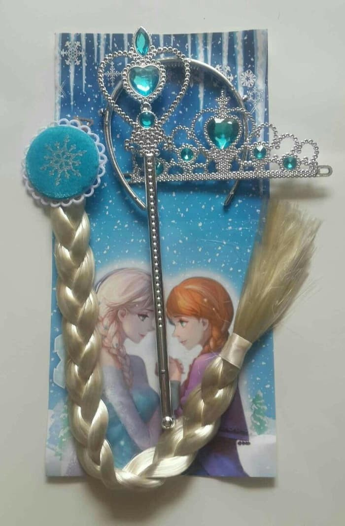 Jual Aksesoris Rambut Frozen Elsa Rambut Bando Mahkota Tongkat Baru Jakarta Barat Sumber Makmur Toko Tokopedia