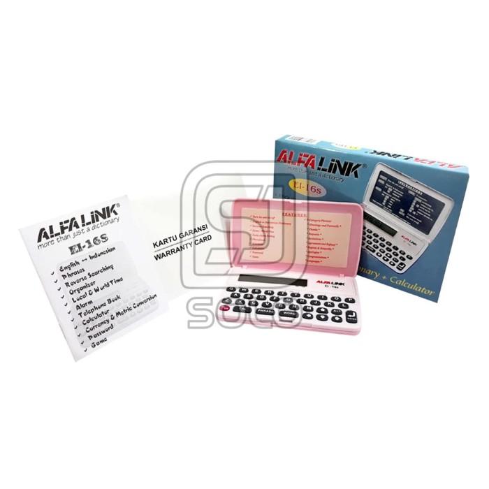 Kamus elektronik e-dictionary alfalink ei 16 s ...