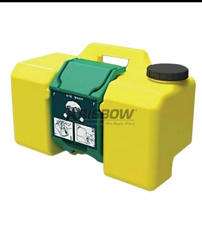 harga Eye wash portable 9 gallons yellow Tokopedia.com