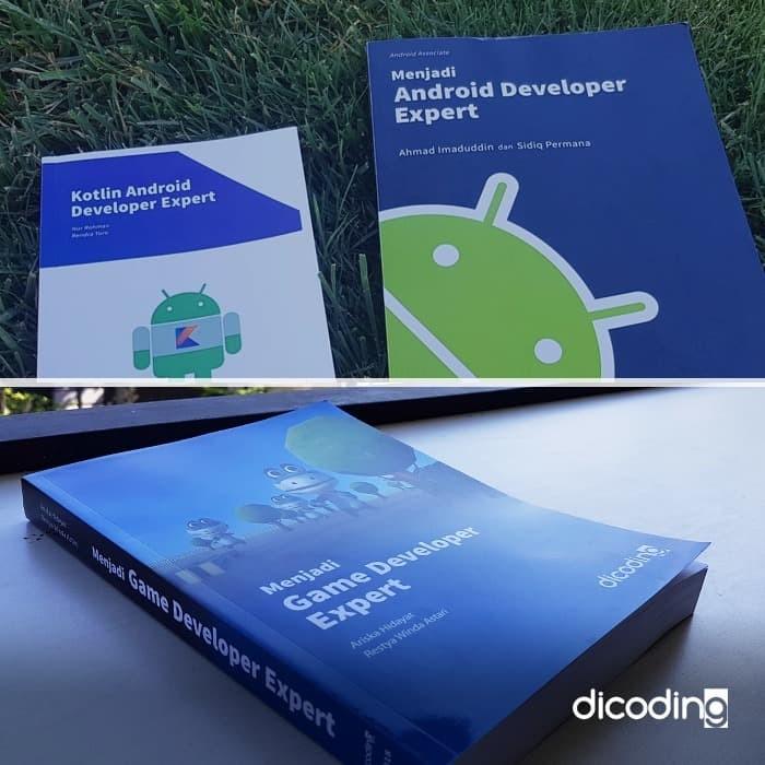 Foto Produk [Hemat 33% + Tas] Bundle 3: Android, Kotlin, dan Game Developer Expert dari Dicoding Indonesia