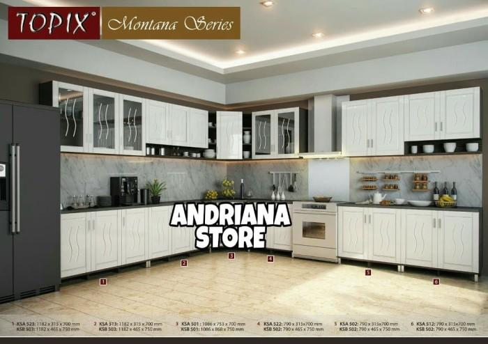 Jual Kitchen Set Atas Ksa 512 Murah Makmur Store Tokopedia