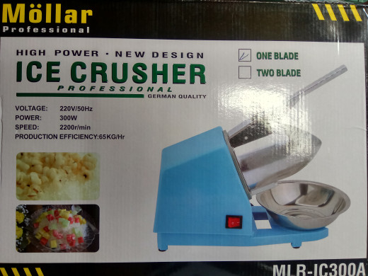 harga Mesin serut es batu / ice crusher merk nankai Tokopedia.com