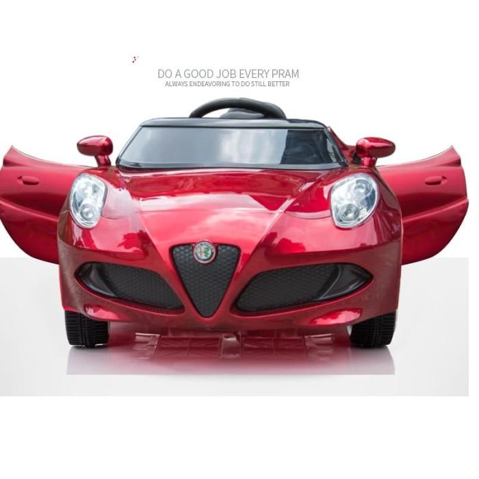 Alfa Romeo 4C >> Jual Mobil Aki Licensed Fiat Alfa Romeo 4c Kids Dki Jakarta Sekar Kirana Shoop Tokopedia