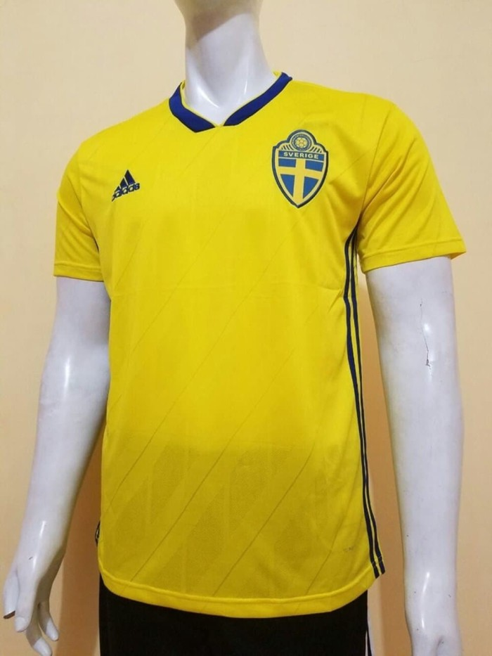 Jual JERSEY SWEDIA HOME WORLD CUP 2018 GRADE ORI Diskon ... 4de496781