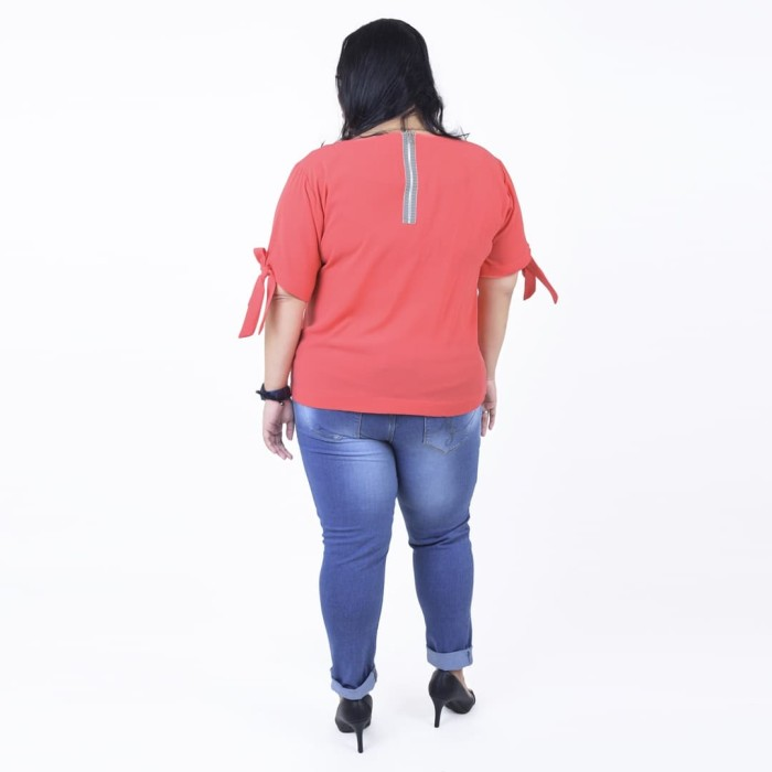 7fec44df24454c Jual My Size Celana Panjang Soft Jeans Big Size BLUFC319 - DKI ...