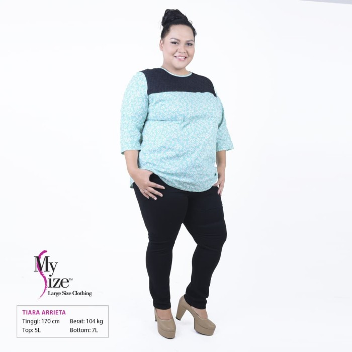 3e6d8d0a8119e5 Jual My Size Celana Panjang Soft Jeans Big size HTMFC319 - My Size Store -  OS | Tokopedia