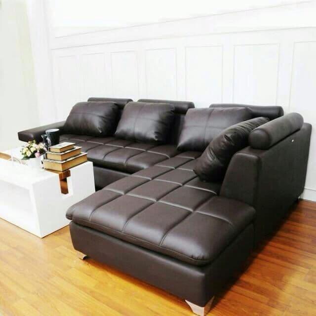Jual Sofa L Golden Sofa Ruang Tamu Kursi Sofa Minimalis Sofa Santai