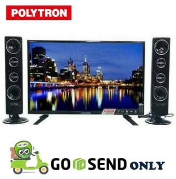 harga Polytron led tv 24 inch - pld24t8511 +tower cinemax Tokopedia.com