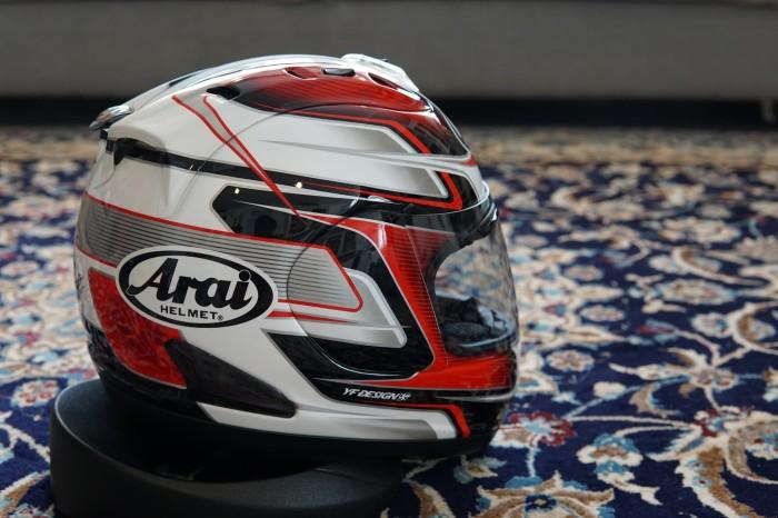 Helm Arai RX7 RR5 Pedrosa GP Red 3