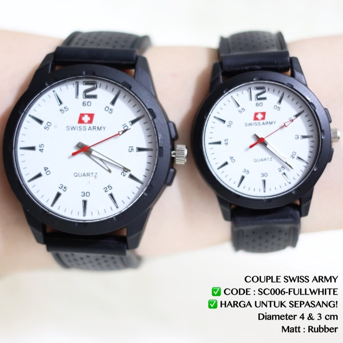 Jam Tangan Couple Valentine Supplier Swiss Army Fossil Guess Murah New 5323353ebb
