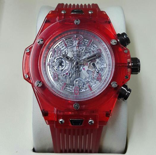 jam tangan pria HUBLOT bigbang unico Garde AAA