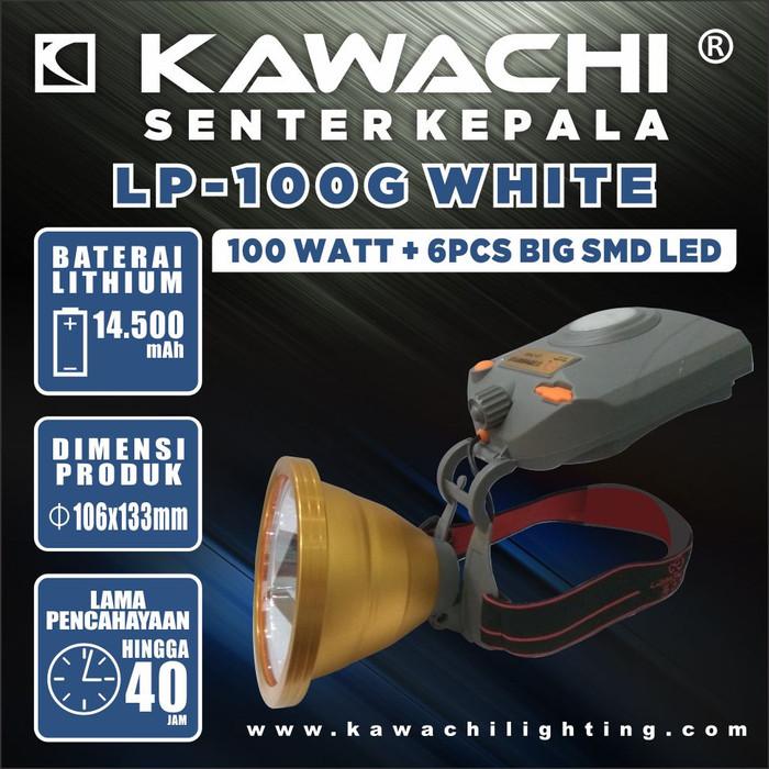 harga Senter kepala kawachi 100w warna putih kekuningan Tokopedia.com
