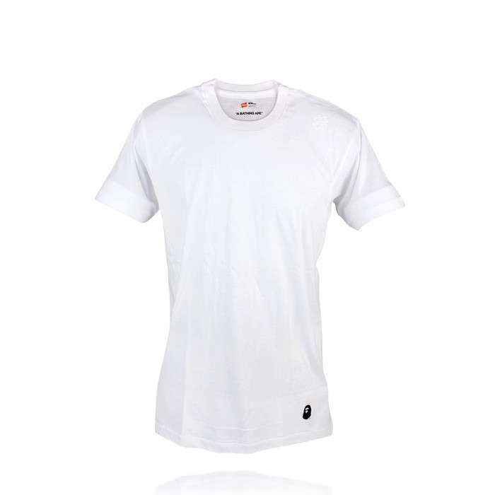 e0ee90646 Jual Bape x Hanes T Shirts Original / Kaos Bape Hanes - Putih, L ...