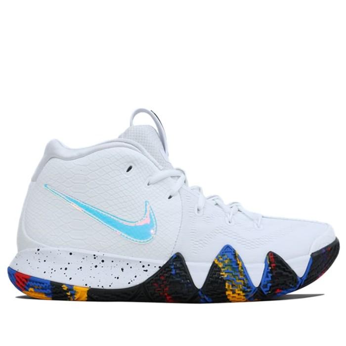 Jual Sepatu Basket Original Nike Kyrie 4 EP WHITE MULTI COLOR ...
