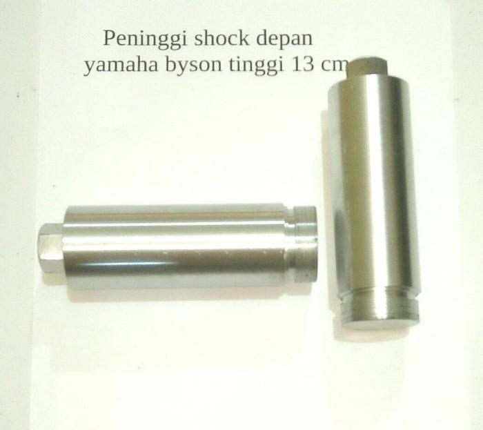 harga Peninggi shock depan byson 13cm -sambungan as shock yamaha byson 13cm Tokopedia.com