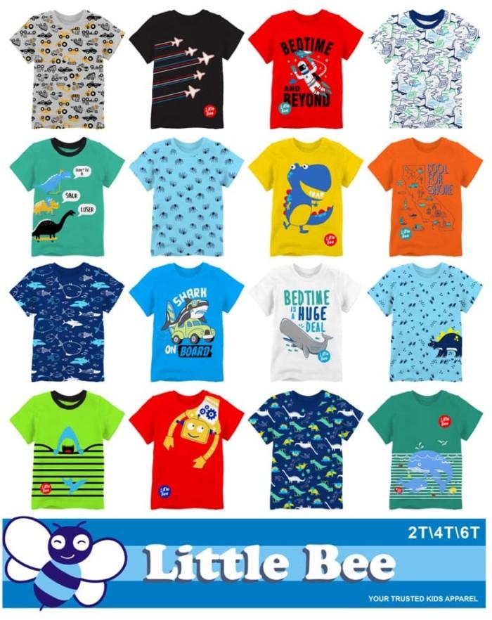... harga Grosir ecer baju murah kaos anak branded bumblebee oshkosh littlebee  Tokopedia. 840e203dc0