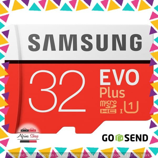 Samsung MicroSDHC EVO Plus Class 10 UHS-1 (95MB/s) 32GB +