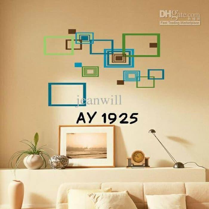 jual exclusife wall stiker uk 60x90 wall sticker dinding kotak rh tokopedia com wall stickers minimalist